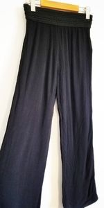 Guess crepe wide leg culotte pants
